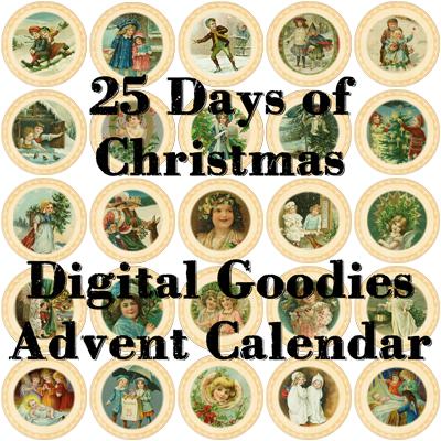 DGD - Digital Goodie Day - 25 Days of Christmas on threelittlekittens.com/blog