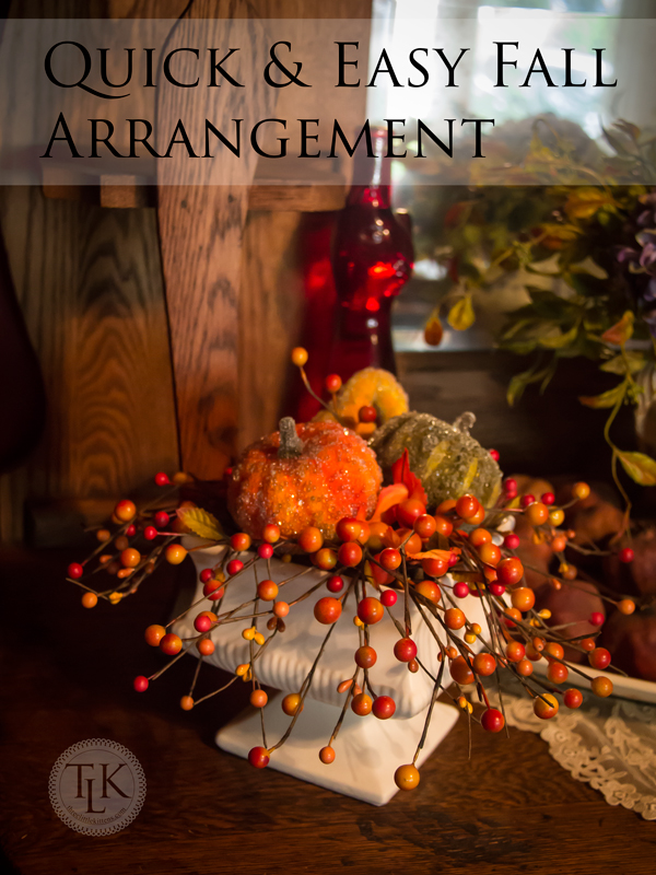 Fall-Arrangement