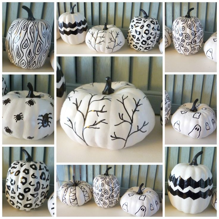 Decorating with pumpkins squash and gourds White pumpkin carving ideas