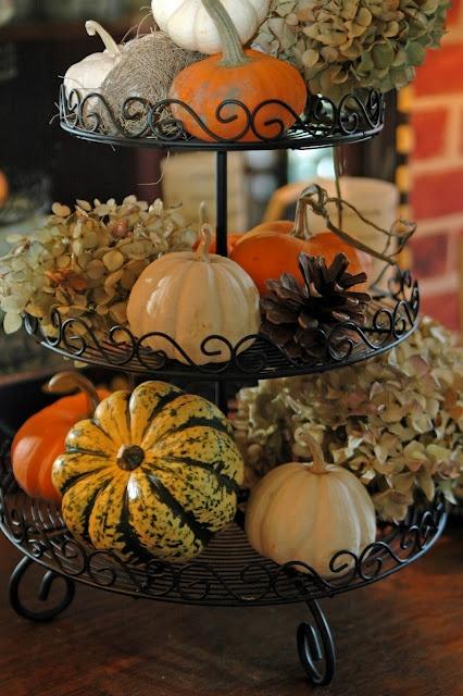 Fall Cake Stand