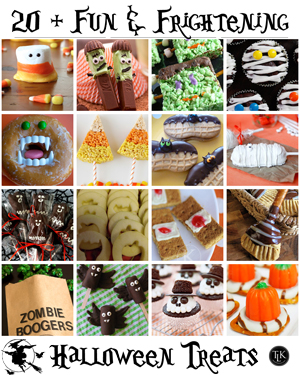 20 Plus Fun and Frightening Halloween Treats found on Pinterest