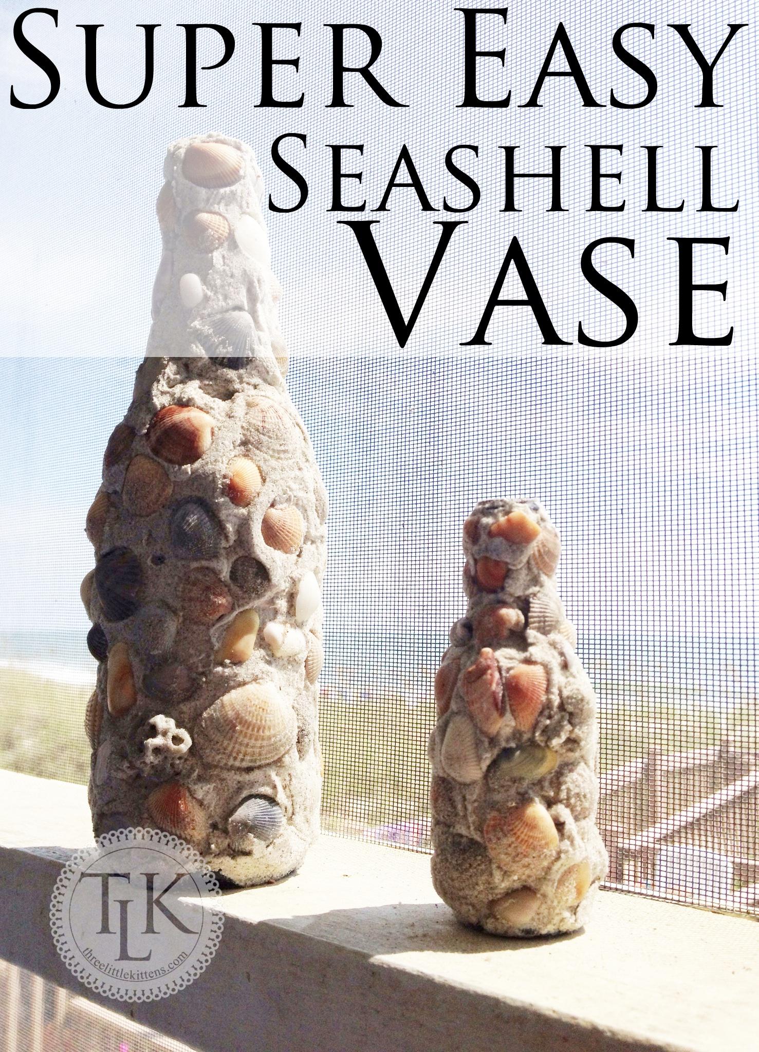 Easy seashell vase super easy seashell vase reviewsmspy