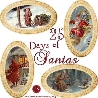 25-Days-of-Santas-on-Three-Little-Kittens www.threelittlekittens.com/blog