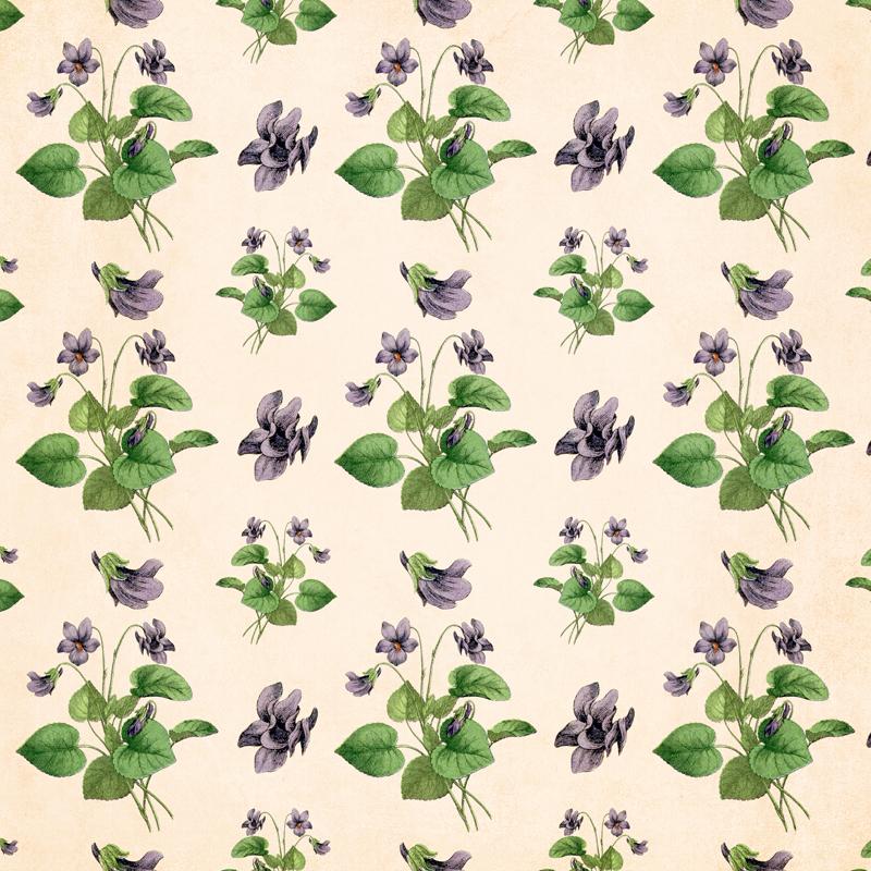 Free Digital Goodie - DGD - Vintage Violet Scrapbook Page on threelittlekittens.com/blog