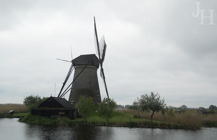 Windmill at Kinderdijk