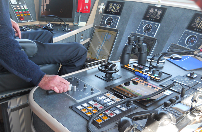 Command Center of the ship