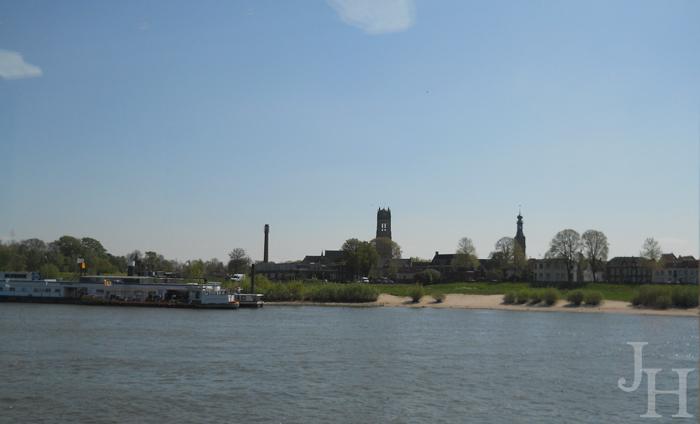Countryside along the Rhine