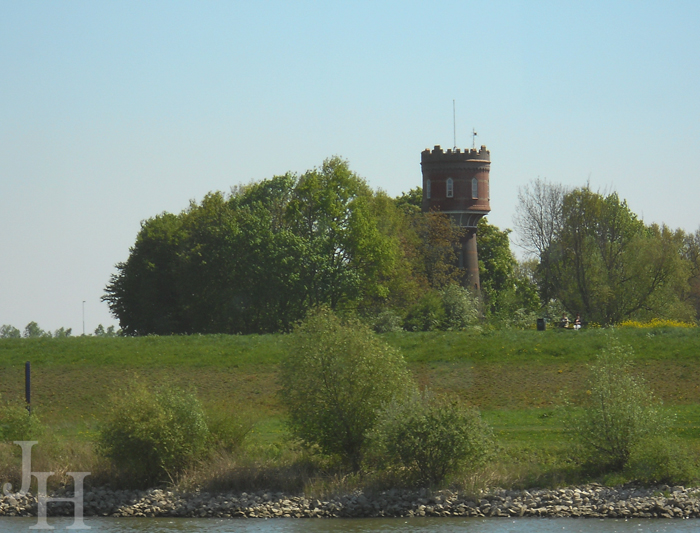 Scenic landscapes along the Rhine
