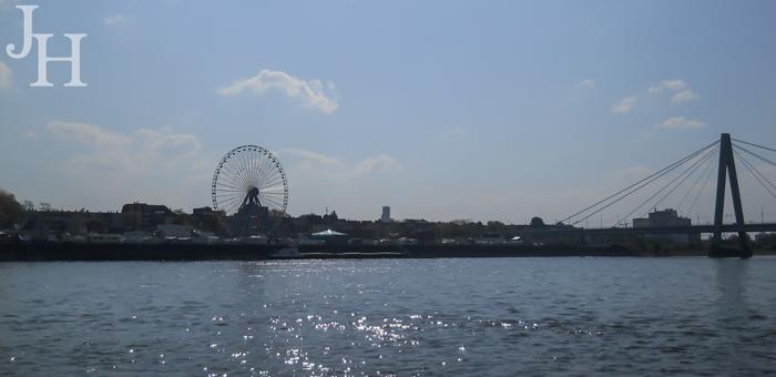 Ferris Wheel on the Rhine in Cologne