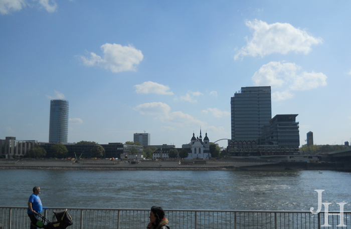Deutz section of Cologne