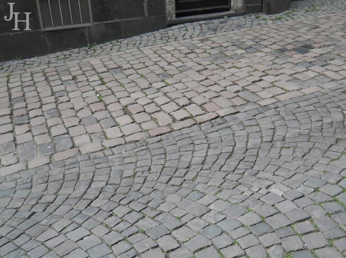 Cobblestone streets of Cologne