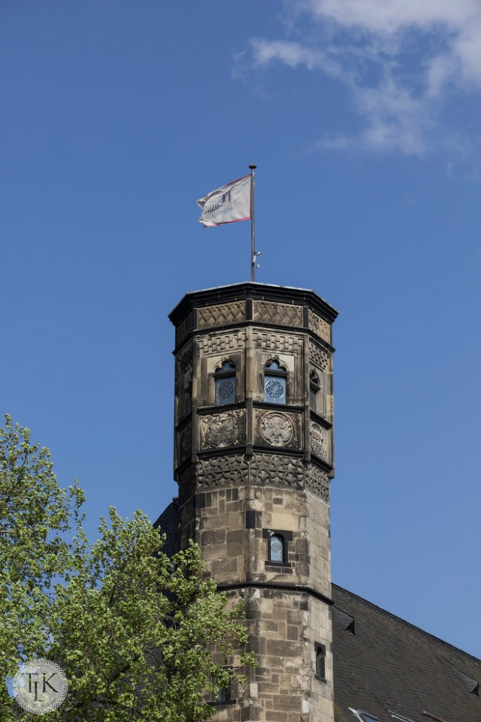 Tower-and-Flag-Cologne-Germany