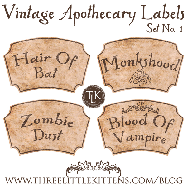 Vintage-Apothecary-Labels-Set-1