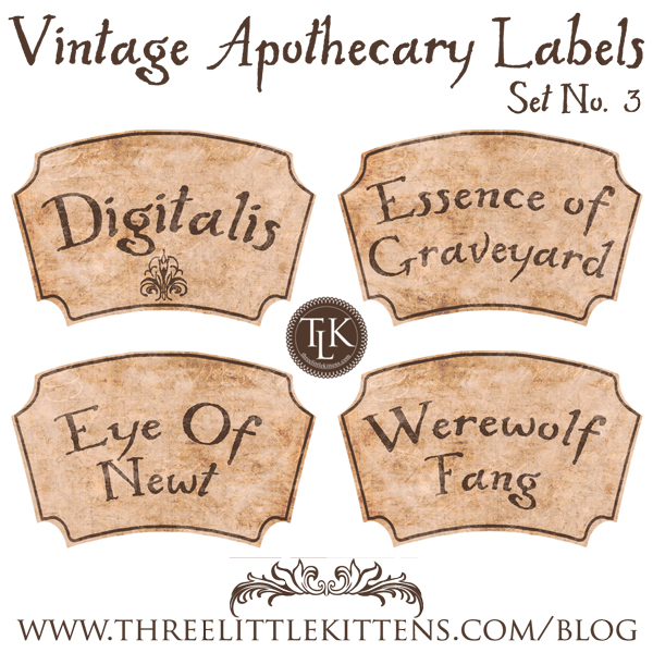photograph about Free Printable Halloween Apothecary Labels identify 31 Times of Halloween Electronic Goodies Typical Apothecary