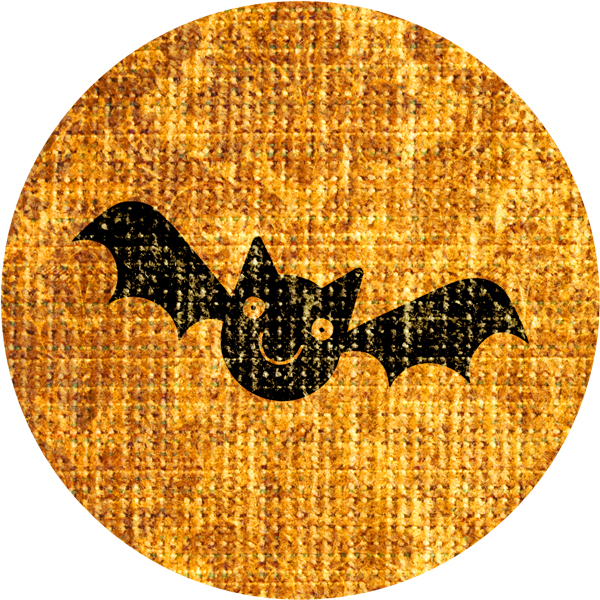 Best-Witches-Vintage-Fabric-Stickers-Bat