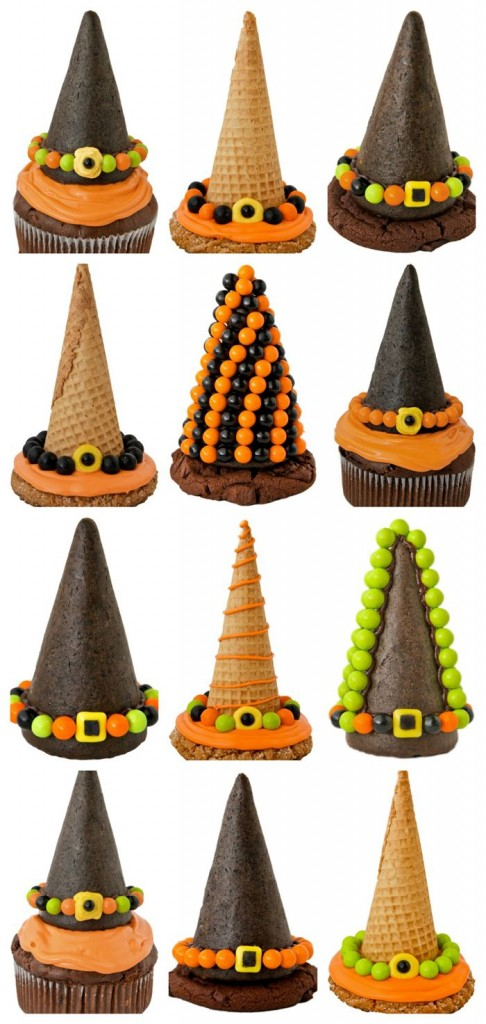 Witch Hat Toppers