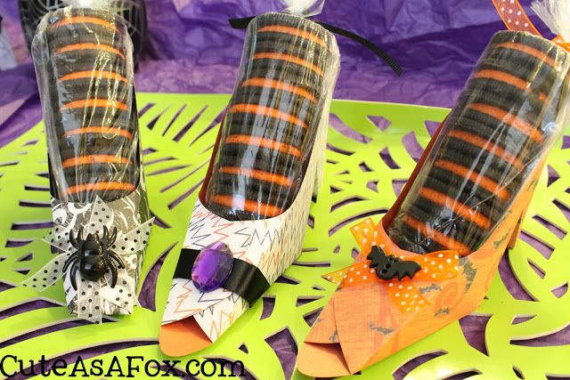 Witches Shoes Oreo Treats