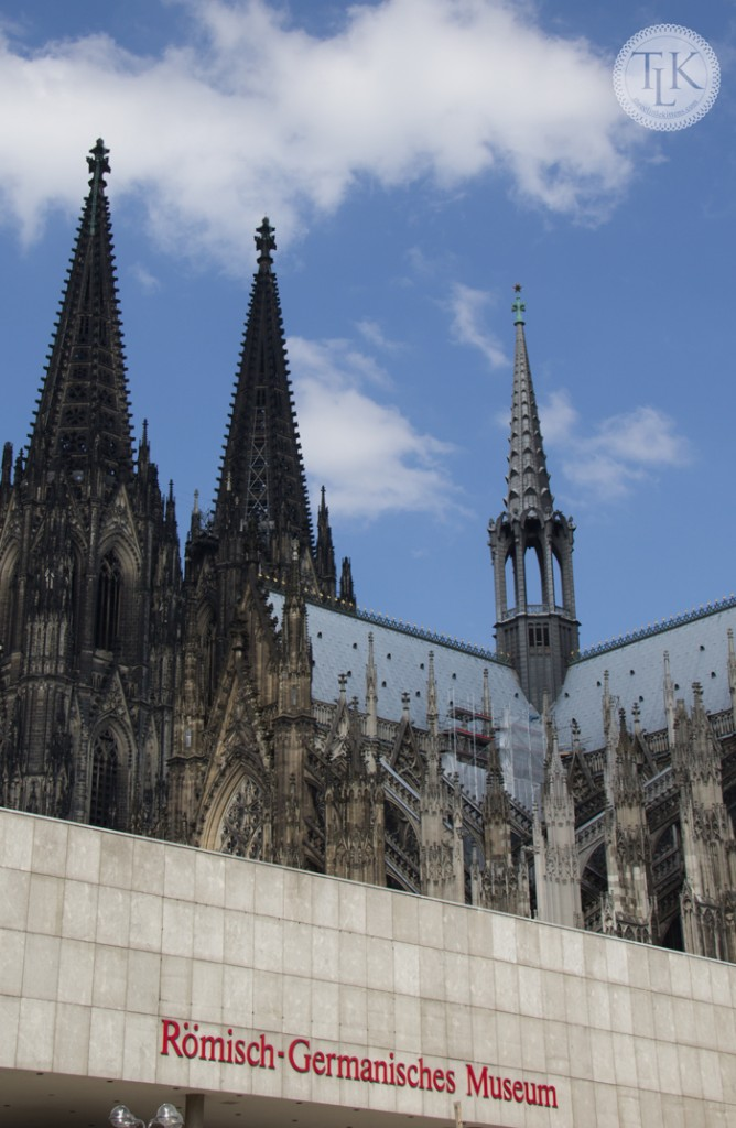 Twin spires of the Cologne Cathedral