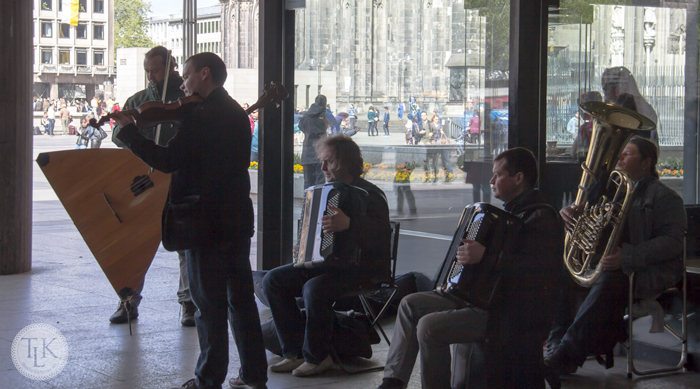 The Compatible - Russian Street Musicians