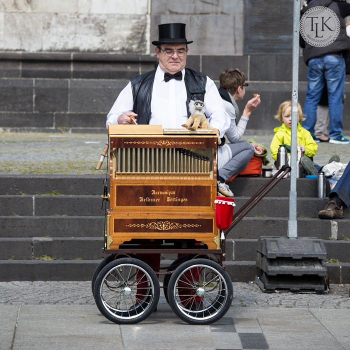 The Organ Grinder in Cologne, Germany