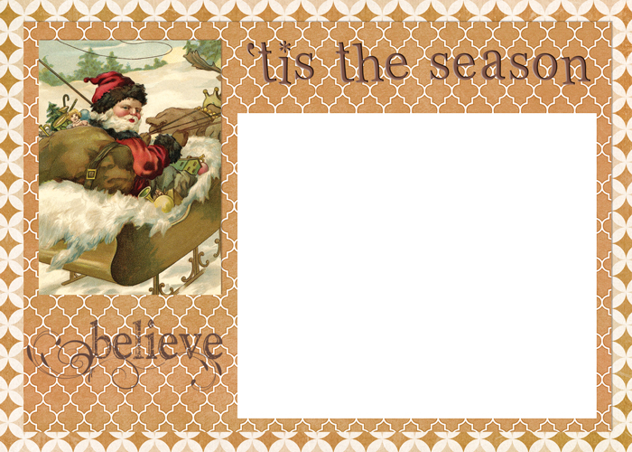 digital goodie day tis the season christmas card template