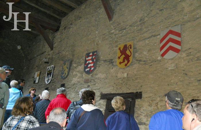 Marksburg Castle Coats of Arms