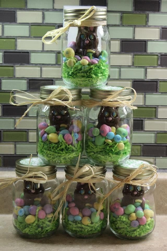 Easter pinterest round up 2015 easter candy jars negle Images