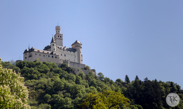 Visiting Marksburg Castle on threelitlekittens.com/blog