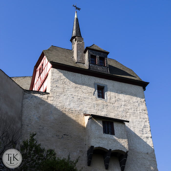 Notches Gate at Marksburg Castle