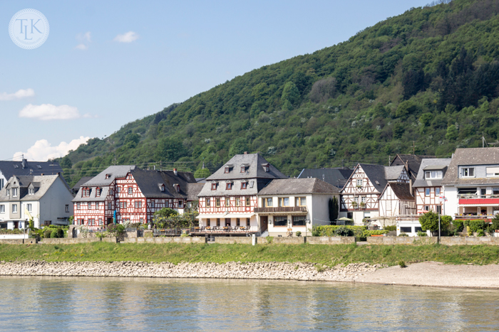 The Village of Spay in Germany