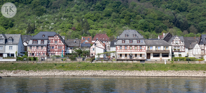Spay, Germany on the Rhine River