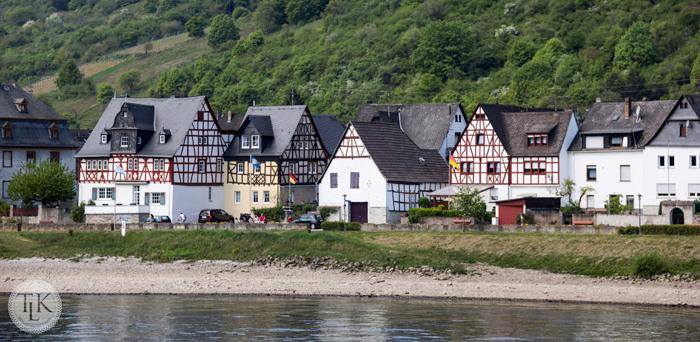 Quaint Village of Spay, Germany