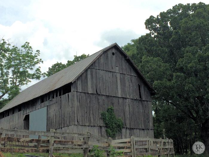 Old Franklin County Barn