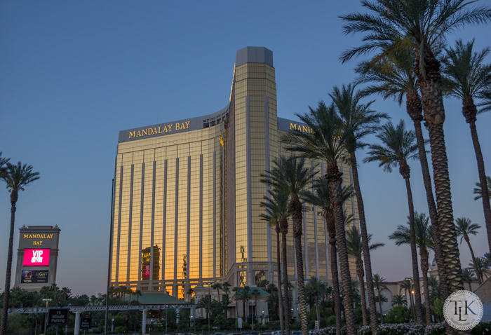 Mandalay Bay at dawn