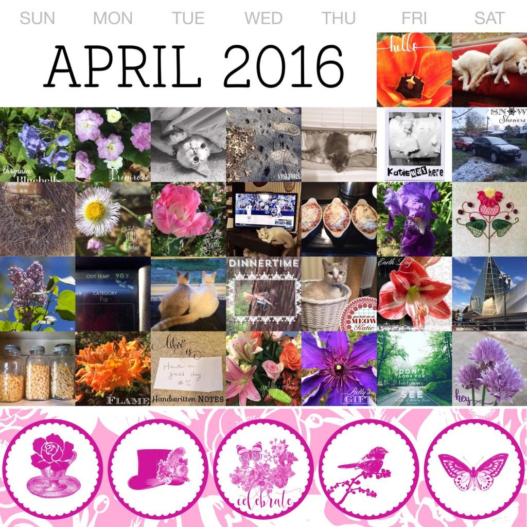 THREE LITTLE KITTENS BLOG | April Project Life 365