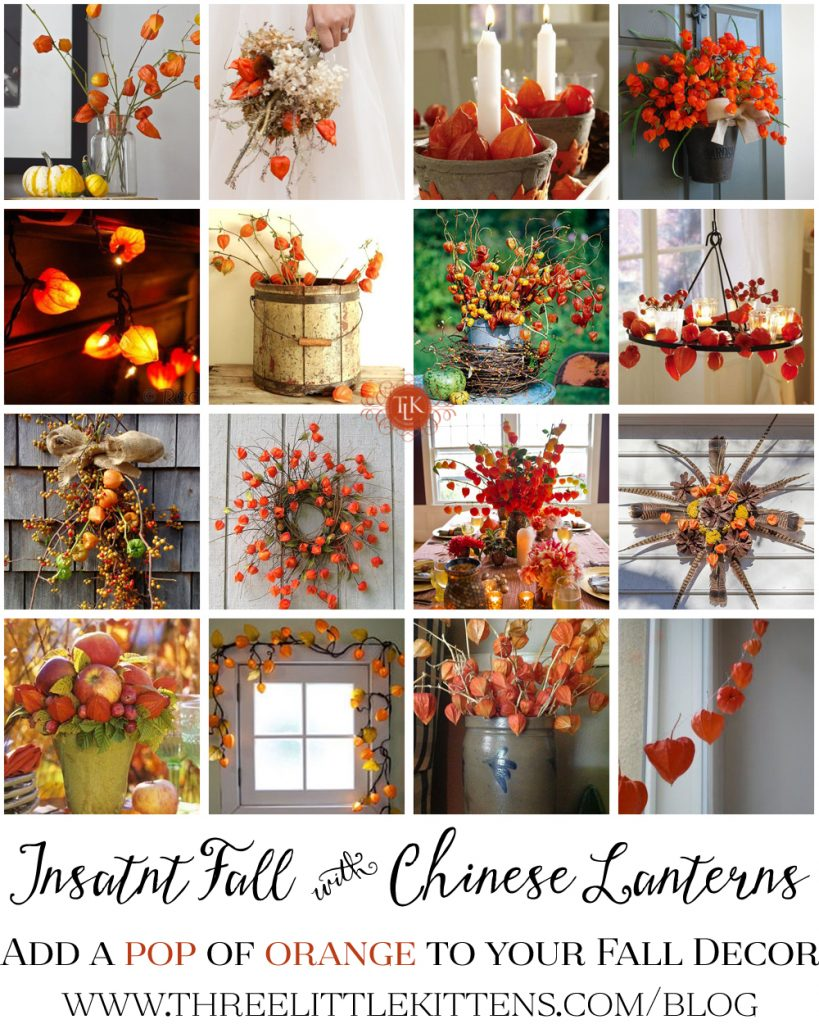 Instant Fall Decor With Chinese Lanterns