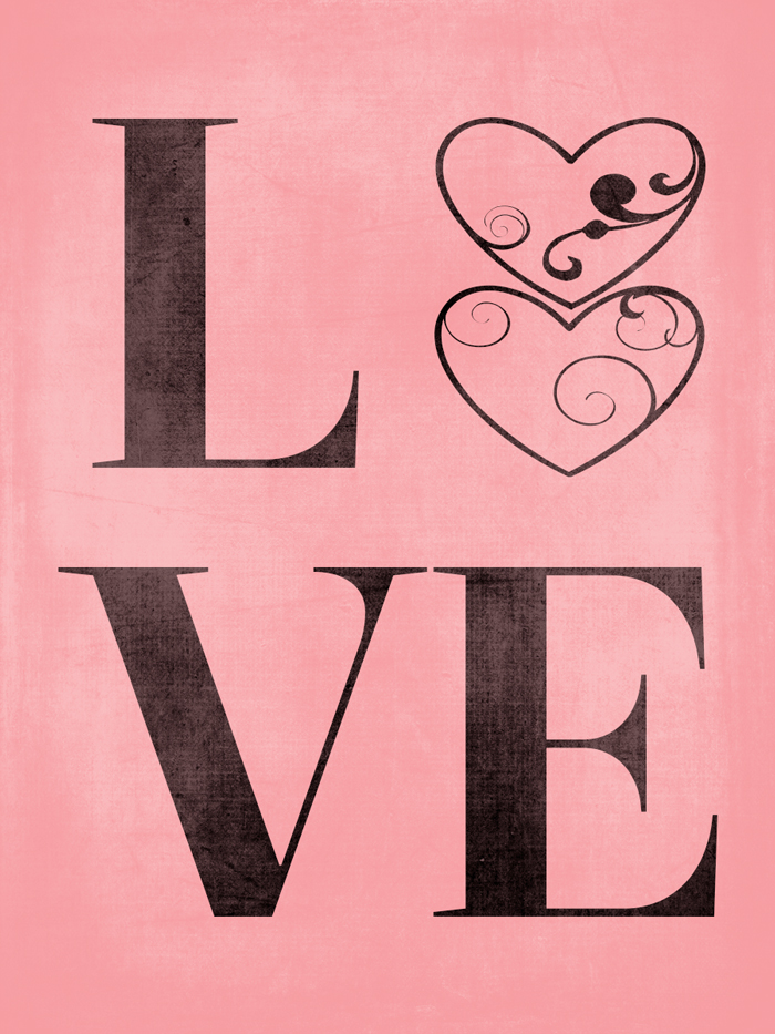 THREE LITTLE KITTENS BLOG | Free Valentine's Day Digital Goodies - LOVE