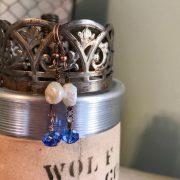 THREE LITTLE KITTENS | 3725e Blue Moon Earrings