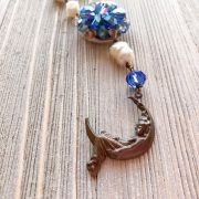 THREE LITTLE KITTENS | 3725n Blue Moon Necklace