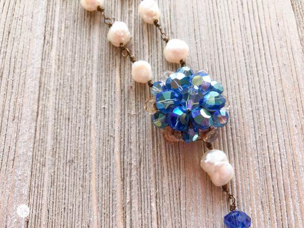 THREE LITTLE KITTENS | 3725n Blue Moon Necklace