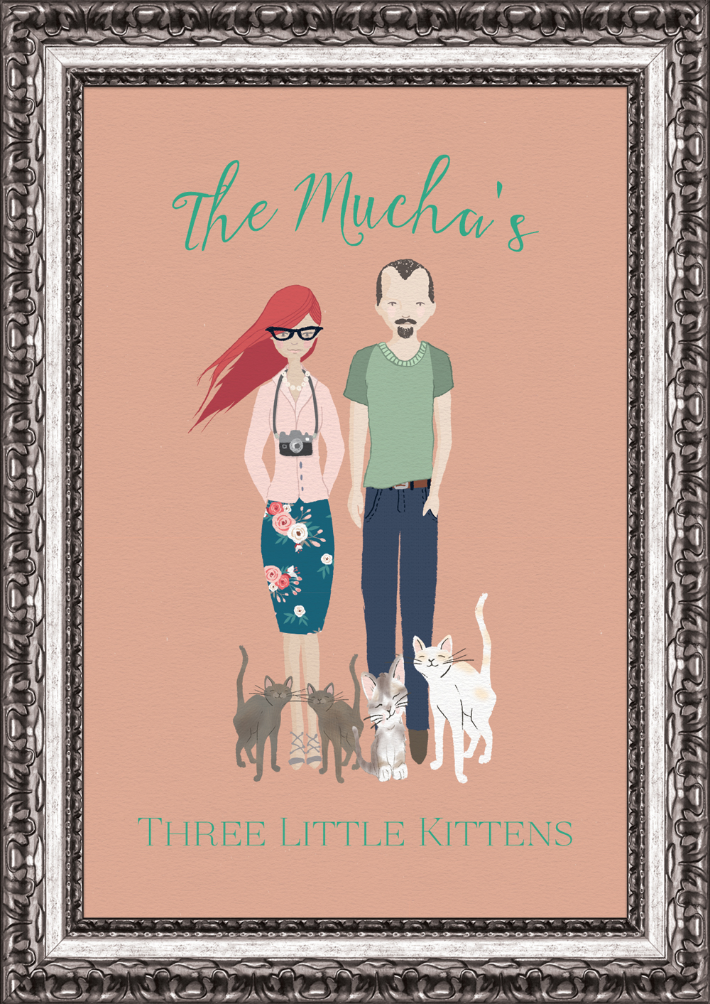 THREE LITTLE KITTENS | Keith & Teresa Mucha | Dixie, Pixie, Katiebelle & Spencer