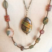 THREE LITTLE KITTENS | Picasso Jasper Necklaces