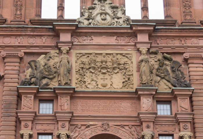 The Irony of the Pagan Wing of Heidelberg Castle