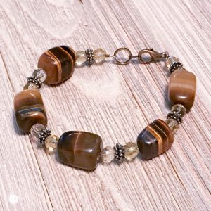 THREE LITTLE KITTENS | 3726b Tiger Eye Bracelet