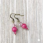 THREE LITTLE KITTENS | 3727 Pretty in Pink Pierced Earrings