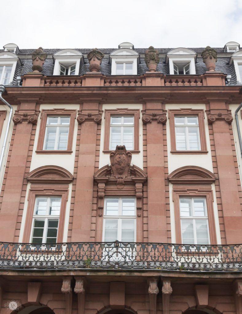 The Palais Prinz Carl in Heidelberg, Germany