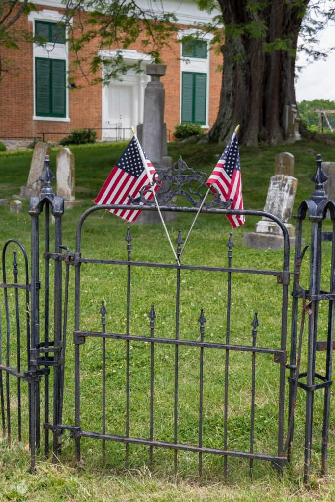 THREE LITTLE KITTENS BLOG | Cemetery Flags
