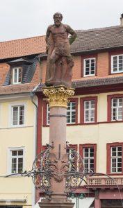 Heidelberg Marktplatz and Stumbling Stones