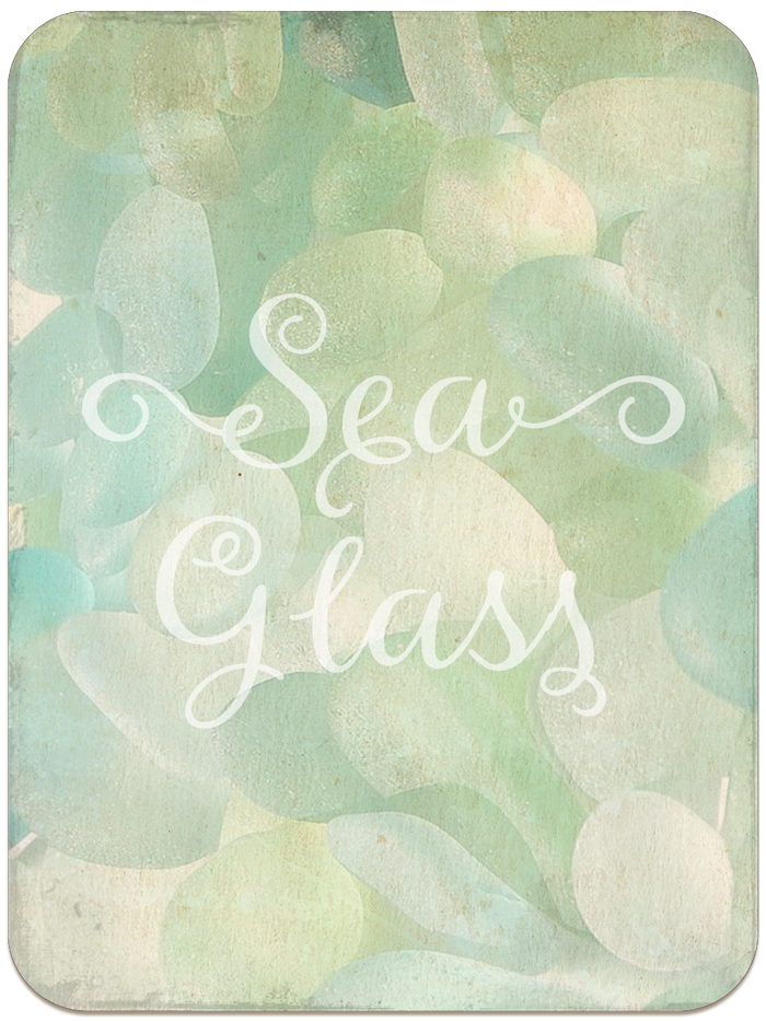 THREE LITTLE KITTENS BLOG | Digital Goodie Day | Sea Glass Seashells | Printable | Sea Glass Bonus