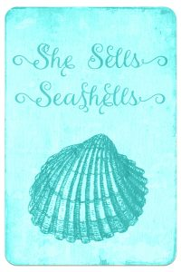 Digital Goodie Day – Sea Glass Seashells – She Sells Seashells